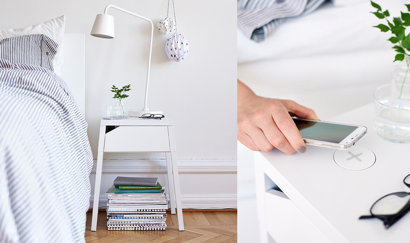 Ikea introducerar trådlös laddning???| Ambienti